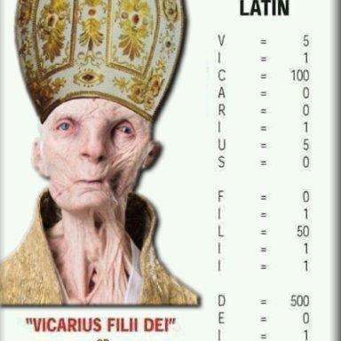Blasphemous Pope Quotes