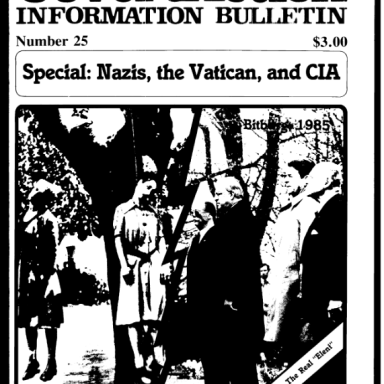 Q Post 851 - Nazis, the Vatican, and the CIA - LEARN