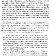 QANON linked info on the Vatican, Nazi, CIA, connections and ties between the Knights of Malta and the P2 Masonic lodge.