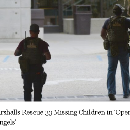 US Marshalls Rescue 33 Missing Children in 'Operation Lost Angels